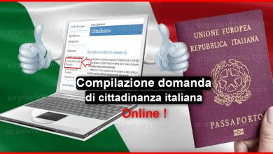 Photo of Compilazione della domanda di cittadinanza italiana online