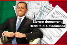 Photo of Elenco documenti Reddito di Cittadinanza 2019