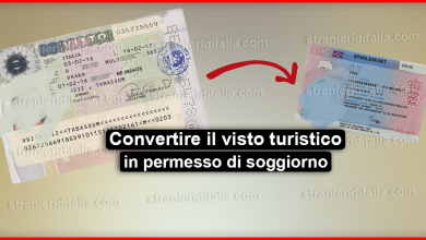 Photo of Come convertire il visto turistico per l'Italia in permesso di soggiorno?