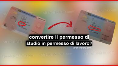 Photo of Come convertire il permesso di studio in permesso di lavoro?