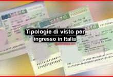 Photo of Tipologie di visto per ingresso in Italia e i requisiti per ottenerli