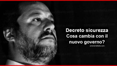 Photo of Aggiornamenti Decreto sicurezza: Cosa cambia con il nuovo governo?