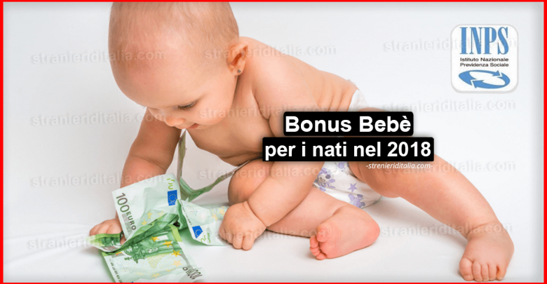 Assegno di natalità (Bonus Bebè) per i nati nel 2018