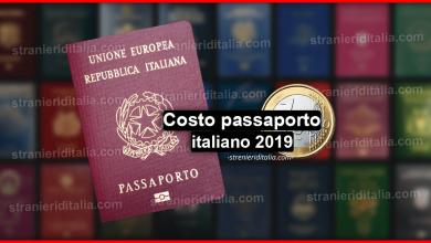 Photo of Costo passaporto italiano 2019 – Rilascio, Rinnovo e tanto altro!