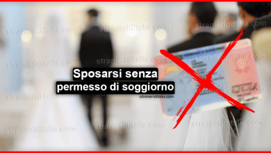 Photo of Sposarsi senza permesso di soggiorno in Italia, è possibile?