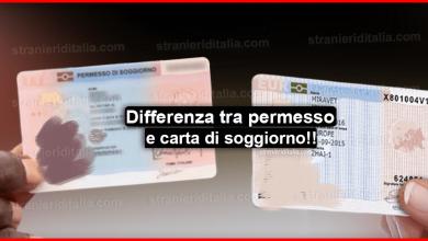 Photo of Permesso e carta di soggiorno: Che differenze ci sono?