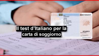 Photo of Chi non deve fare il test d'italiano per la carta di soggiorno?