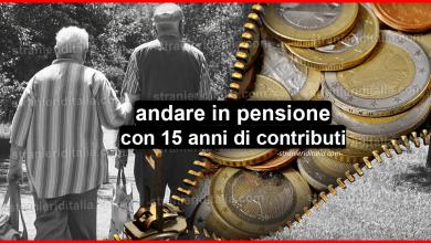 Photo of Pensione con 15 anni di contributi (come funziona)   Stranieri d'Italia