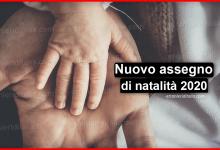 Photo of Nuovo assegno universale natalità 2020 | Stranieri d'Italia
