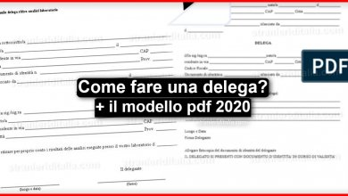 Photo of Come fare una delega? Ecco qua cosa ti serve sapere! + modello pdf