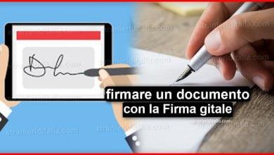 Photo of Come firmare un documento con la Firma digitale | Stranieri d'Italia