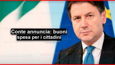 Photo of Giuseppe Conte annuncia: Buoni spesa e altre misure per i Comuni