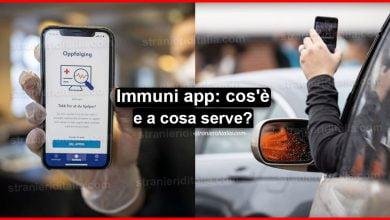 Photo of App Immuni (cos'è e come funziona) | Stranieri d'Italia