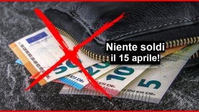 Photo of Cassa integrazione: Niente soldi il 15 aprile! | Stranieri d'Italia
