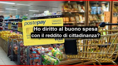 Photo of Ho diritto al buono spesa con il reddito di cittadinanza?