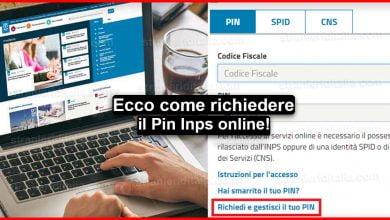 Photo of Pin Inps online: Cos'è e come poterlo richiedere