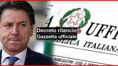 Photo of Decreto rilancio, Gazzetta ufficiale (l'ultima versione in pdf)