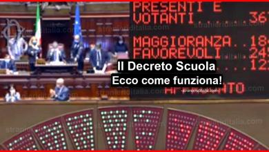 Photo of Il Decreto Scuola è legge: Ecco come funziona!