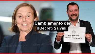 """Photo of Lamorgese ha deciso: """"Cambiamento dei decreti Salvini"""""""