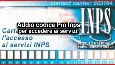 Photo of Addio codice Pin Inps per accedere ai servizi!