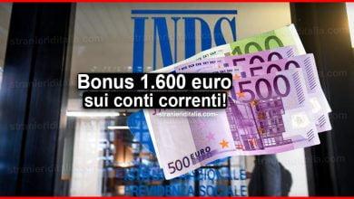 Photo of Bonus 1.600 euro sui conti correnti: in arrivo il sussidio