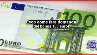 Photo of Bonus 100 euro in busta paga: Ecco come fare domanda!