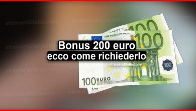 Photo of Bonus 200 euro: ecco come poterlo richiedere!