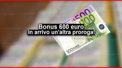 Photo of Bonus 600 euro: In arrivo un'altra proroga per varie categorie!
