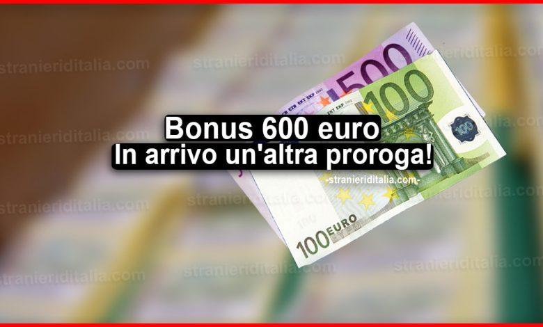 Bonus 600 euro: In arrivo un'altra proroga per varie categorie!