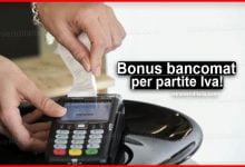 Photo of Bonus bancomat per partite Iva: ecco come funziona