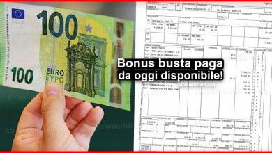 Photo of Bonus busta paga, da oggi disponibile! Come fare domanda