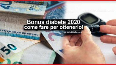 Photo of Bonus diabete 2020: Come fare domanda per ottenerlo?