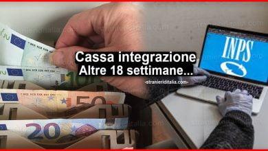 Photo of Cassa integrazione: Altre 18 settimane in decreto agosto