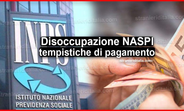Disoccupazione NASPI: quali sono le tempistiche di pagamento
