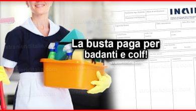 Photo of La busta paga per badanti e colf!   Stranieri d'Italia