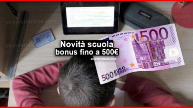 Photo of Novità scuola: bonus fino a 500 euro per famiglie nel PNR
