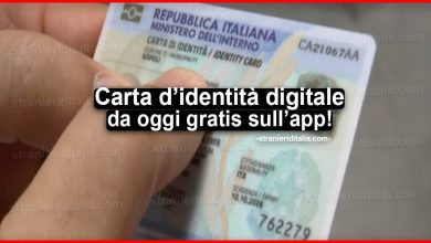 Photo of Nuova Carta d'identità digitale: da oggi gratis sull'app