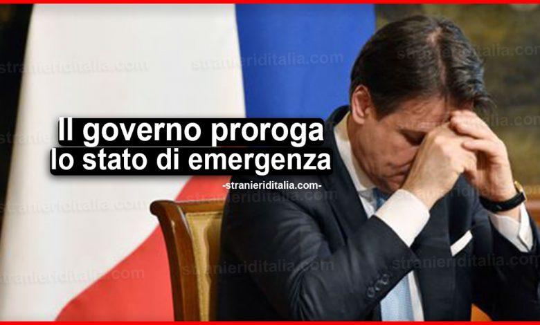 Stato di emergenza: proroghe fini al 31 dicembre 2020