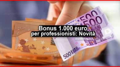 Photo of Bonus 1.000 euro per professionisti: incluso nel decreto Agosto
