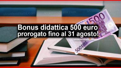 Photo of Bonus didattica 500 euro 2020, prorogato fino al 31 agosto!