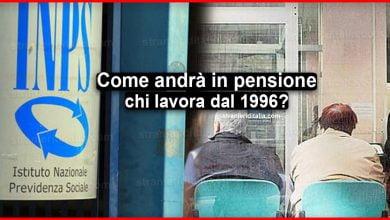 Photo of Come andrà in pensione chi lavora dal 1996 in poi?
