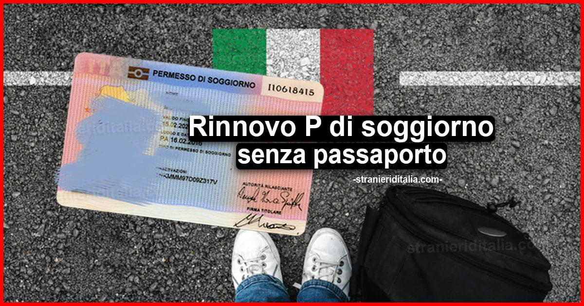 Permesso di soggiorno senza passaporto 2020: Rinnovo,...