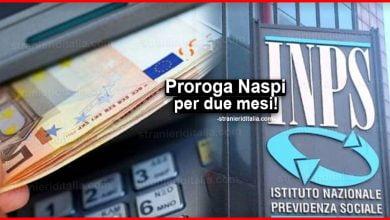 Photo of Proroga Naspi per due mesi: chi spetta ad agosto la proroga?